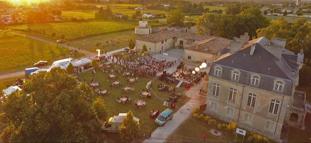Vue aérienne du domaine de Beauval-festival